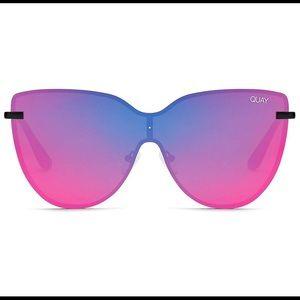 Quay Australia Daydream Sunglasses Black Pink NEW